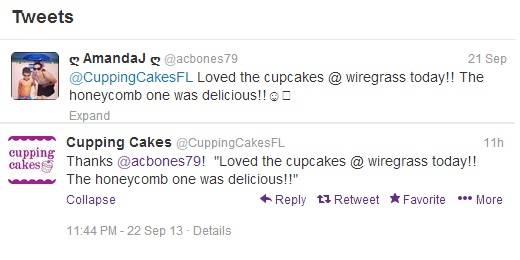 Cupping Cakes Tweet 9-22-13